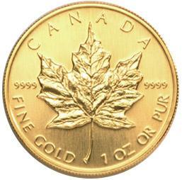 maple leaf gold - (Erbschaft, Goldmünzen)