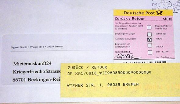 http://blog.selbstauskunft.net/wp-content/uploads/2011/08/mieterauskunft24-retou - (Gerichtsvollzieher, Täuschung, Angabe falscher Adresse)