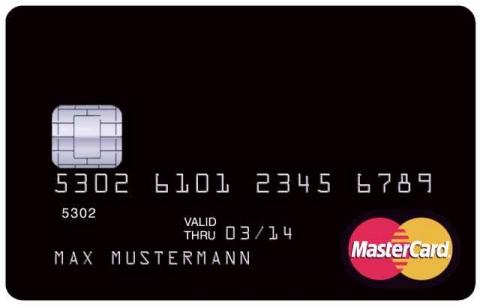 Kreditkarte Fake