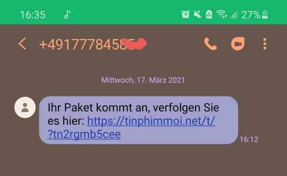 Spamnummer?