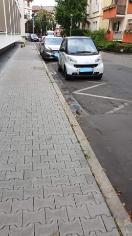 Verkehrsschild vs. Bodenmarkierung?