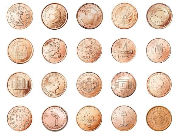 Woher stammt die Münze hier?